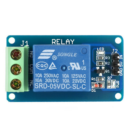 Picture of GROSSIL 1 channel relay board 12V One Channel Relay Module Optcouple Board